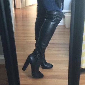 6bbf4b4c7f1 Jessica Simpson Shoes - Jessica Simpson Grandie over the knee boots
